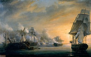 Second Battle of Algeciras - Image: Combat du Formidable