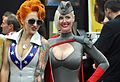 Comic Con 2013 - Lady Dare and Red Son Power Girl (9335988886).jpg
