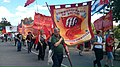 Communist Party of Britain on parade at Tolpuddle, 2015.jpg