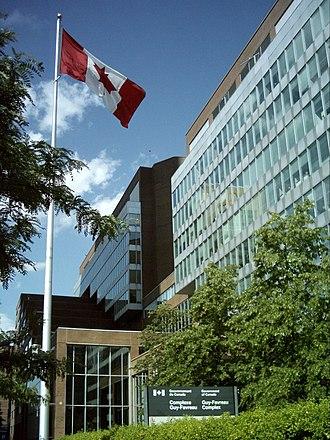 Federal building - Complexe Guy-Favreau, Montréal, Québec