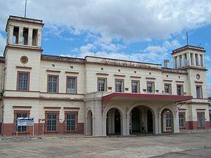 Entre Ríos Railway - Concordia station.