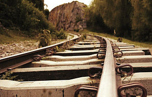 Suesca - Train track to Rocas de Suesca