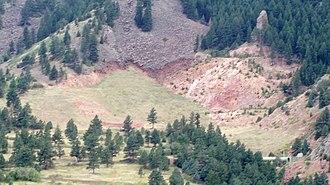 Eldorado Mountain - Image: Conda Quarry Eldorado Mtn