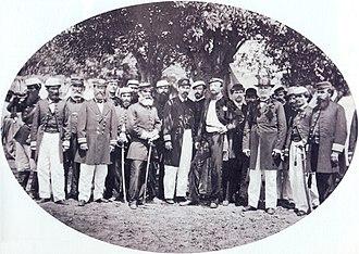 Alfredo d'Escragnolle Taunay, Viscount of Taunay - Image: Conde d Eu visconde do rio branco 1870