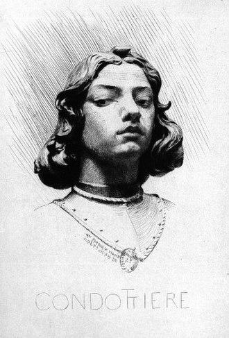 Jean-Désiré Ringel d'Illzach - Image: Condottiere by Ringel d'Illzach