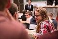 Conférence à l'Ecole polytechnique en amphi Gay Lussac Crédit photographique - © École polytechnique - J.Barande (33468894723).jpg