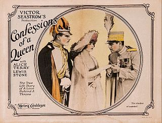 <i>Confessions of a Queen</i> 1925 film by Victor Sjöström