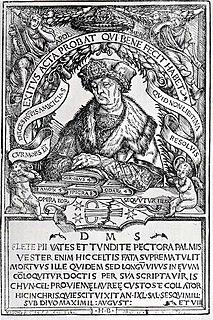 Conrad Celtes German Renaissance humanist