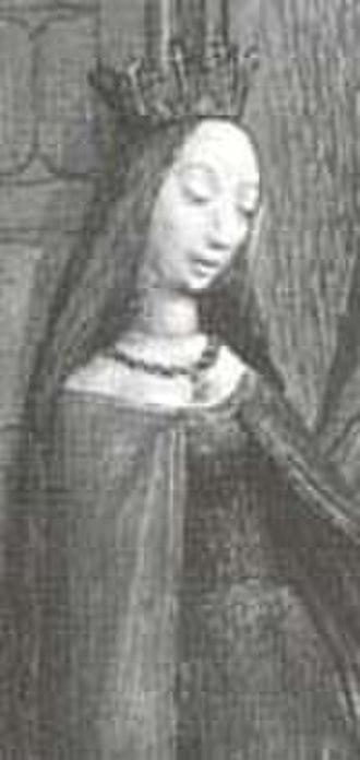Princess of Taranto - Image: Constance of France, widow of Bohemund of Taranto