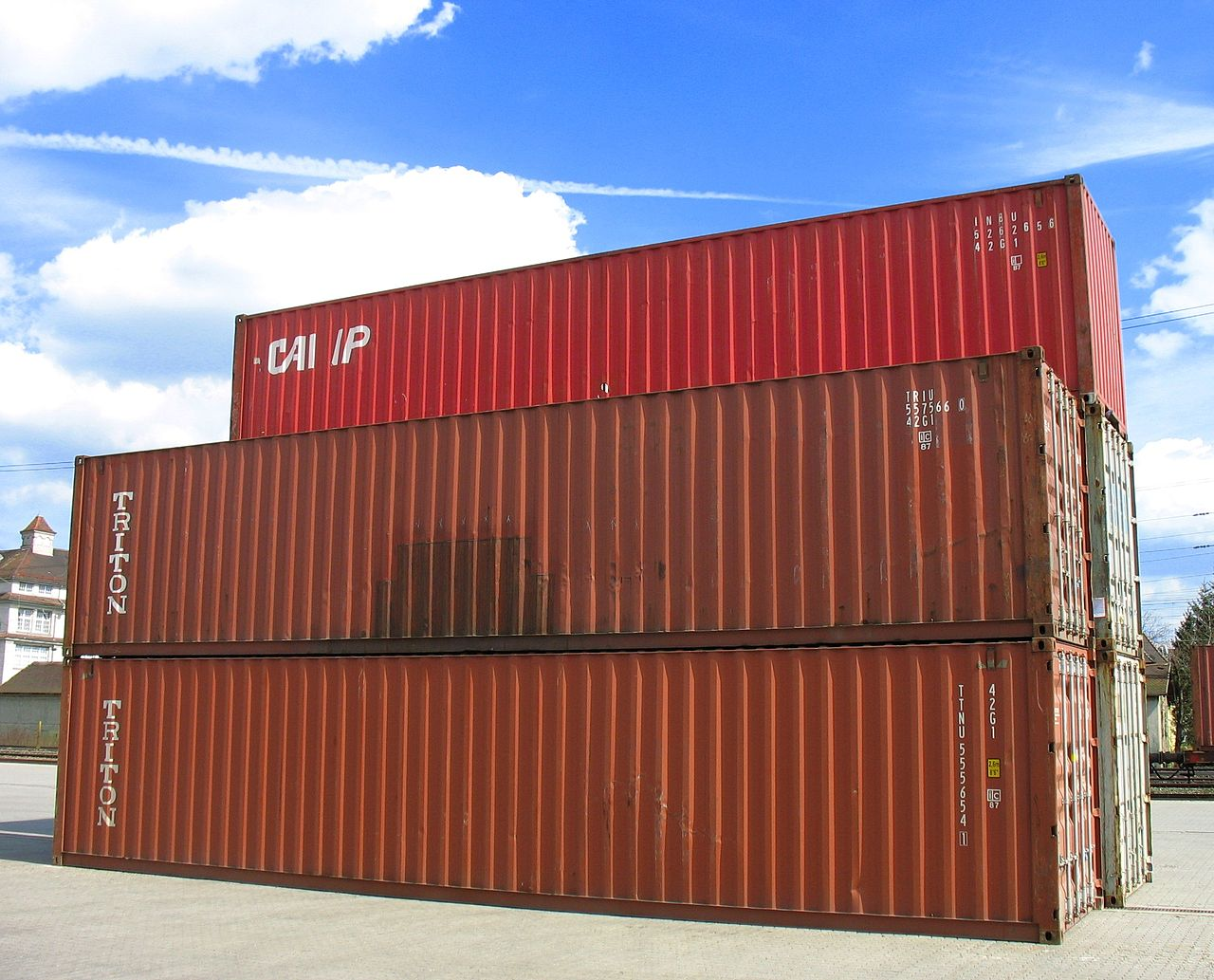 """""""Container Augsburg"""" von Eigenes Werk. Lizenziert unter CC BY-SA 3.0 über Wikimedia Commons"""