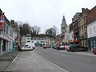 Conty - Looking towards the town square