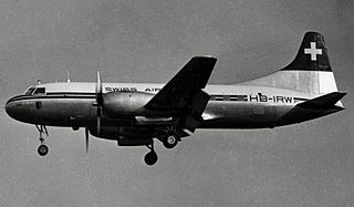 1954 Swissair Convair CV-240 crash
