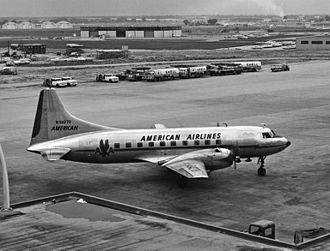 American Airlines Flight 711 - An American Airlines Convair CV-240, similar to the aircraft involved in the accident