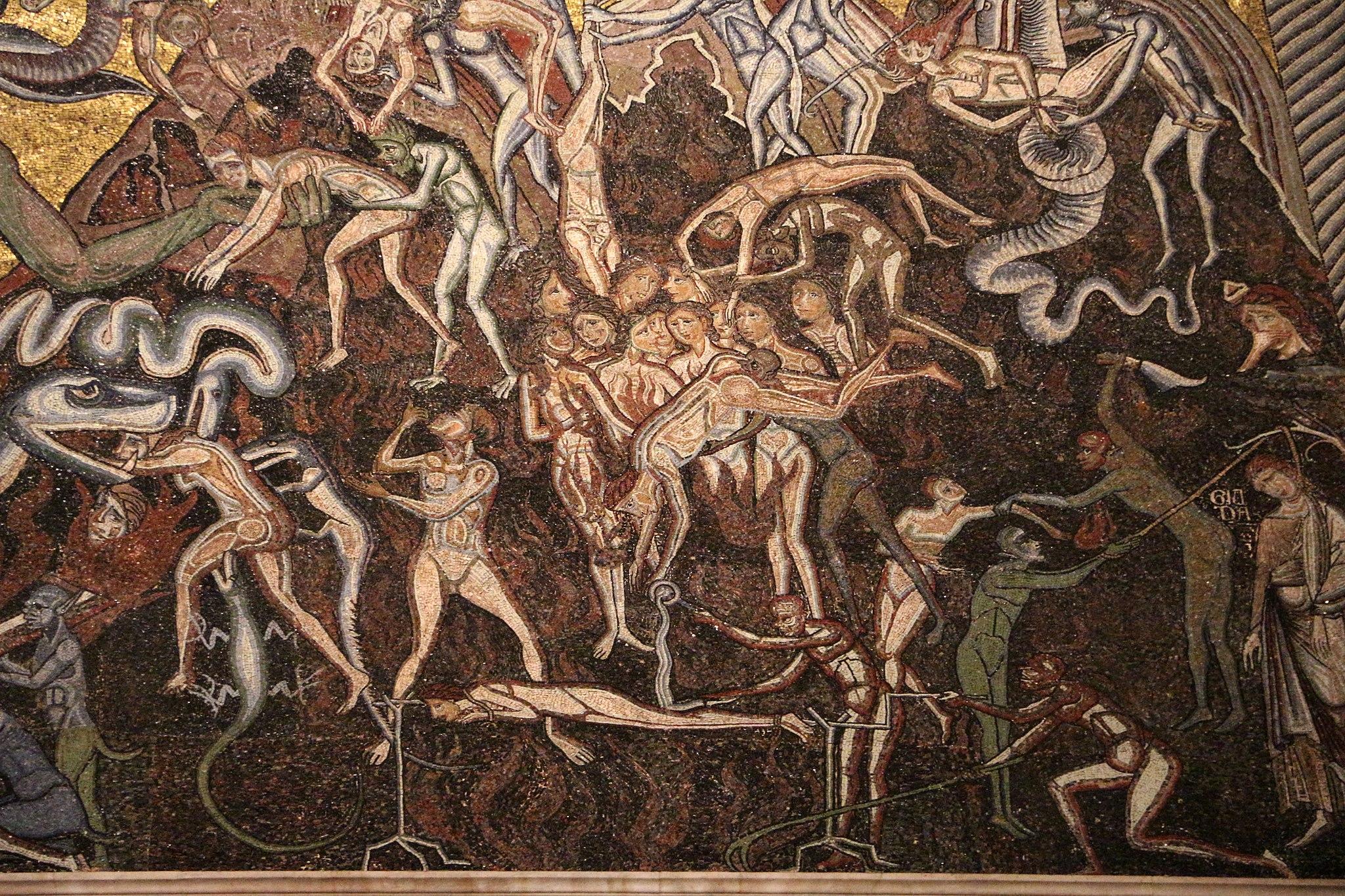 Coppo di marcovaldo (attr.), inferno, dal 1225, 07