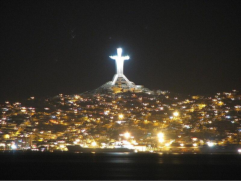 File:Coquimbo por la noche.JPG