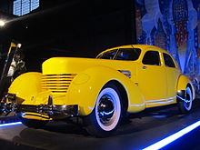 Front Wheel Drive Cars >> Cord 810/812 - Wikipedia