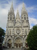West facade of Saint Fin Barre's Cathedral