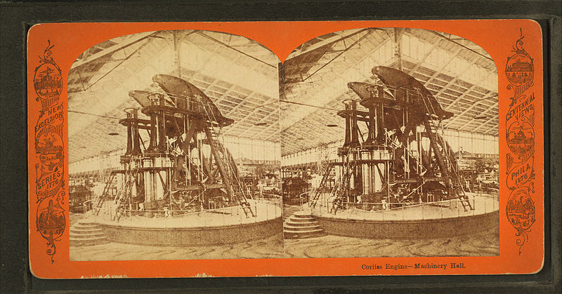File:Corliss engine, Machinery Hall, from Robert N. Dennis collection of stereoscopic views 5.jpg