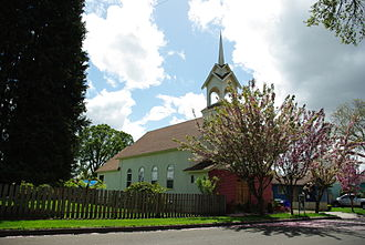Cornelius, Oregon - Church in the city on South Beech Street