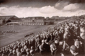 Schoellkopf Field - Cornellians cheer on the Big Red in 1919