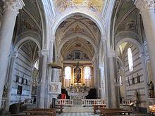 Corniglia wikipedia for Interno san pietro