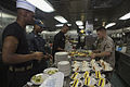 Corporal course Marines hold mess night aboard Mesa Verde 140925-M-MX805-036.jpg
