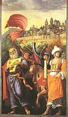 David devant l'Arche d'Alliance