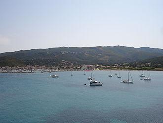 Ligurian Sea - Image: Corse 04628 Macinaggio baie