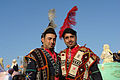 Costumed villagers, The Citadel of Aleppo, Syria.jpg