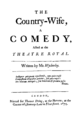 Country Wife 1st ed 1675.png