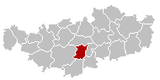 Court-Saint-Etienne Brabant-Wallon Belgium Map.png
