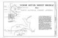 Cover Sheet - Verde River Sheep Bridge, Spanning Verde River (Tonto National Forest), Cave Creek, Maricopa County, AZ HAER ARIZ,13-CACR.V,1- (sheet 1 of 4).png