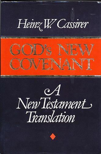 God's New Covenant: A New Testament Translation - Image: Cover of Gods New Covenant, A New Testament Translation