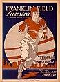 Cover photo of the 1919 University of Pennsylvania versus Pitt football game program.jpg