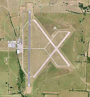 Cox Field - USGS aerial image - 2006