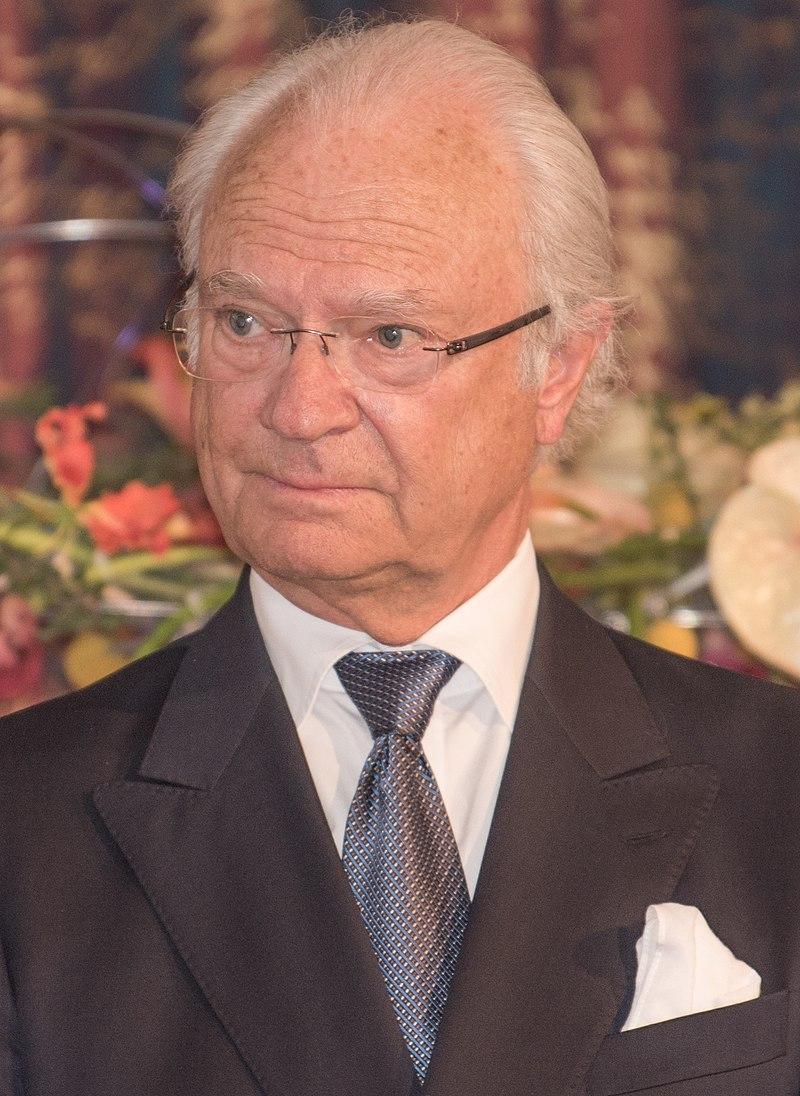 King Carl XVI Gustaf of Sweden.