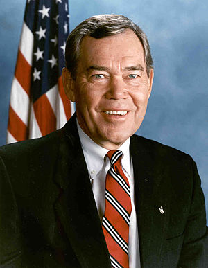 Craig L. Thomas - Earlier official portrait of Thomas