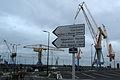 Cranes Brest harbour-IMG 9509.JPG
