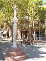 Creu de terme del Coll de Begues en el Passeig de l'Eglésia.jpg