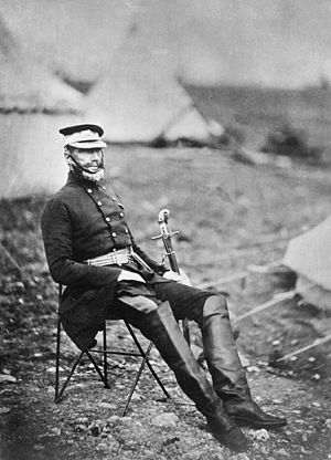 George Buller - Buller in camp during the Crimean War, in 1854