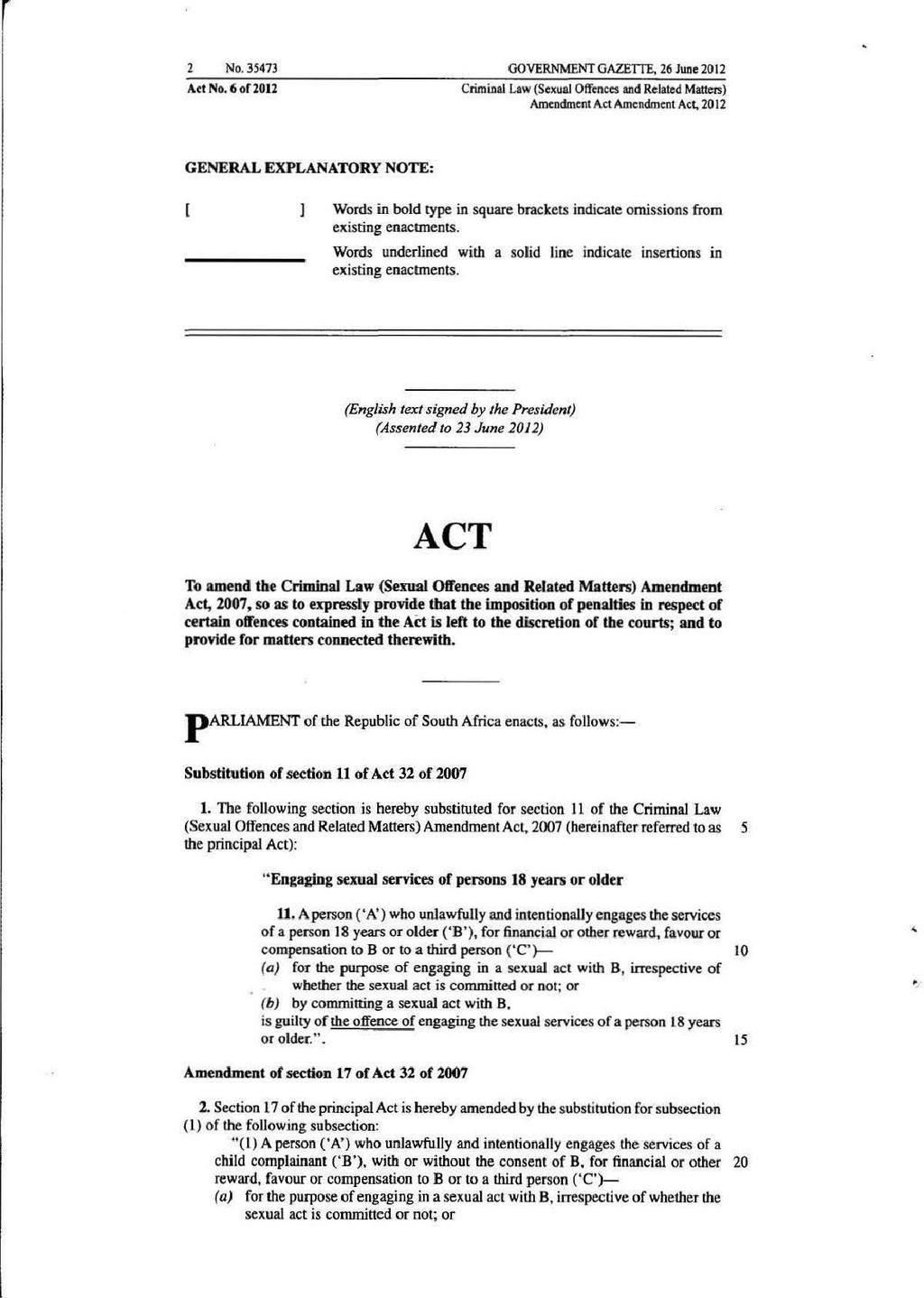 Criminal law amendment act pdf