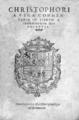 Cristóbal de Vega (1563) Commentaria in librum Aphorismorum Hippocratis.png