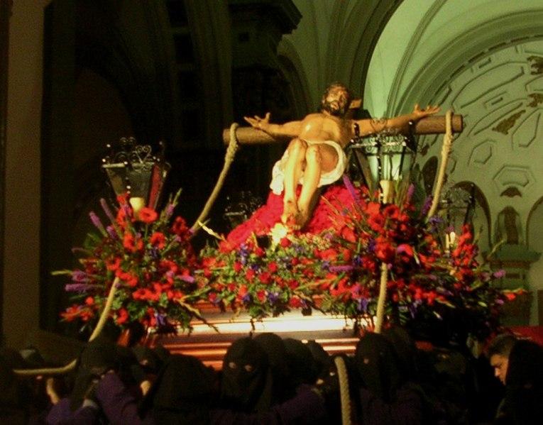 Comienza la Semana Santa en Cartagena-http://upload.wikimedia.org/wikipedia/commons/thumb/3/30/CristodelSocorro.JPG/765px-CristodelSocorro.JPG