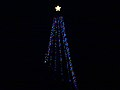 Cross Plains Hilltop Christmas Tree Lit with LED Lights - panoramio.jpg