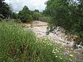 Crossing ford in flood, Quarteira River, 08 May 2016 (4).JPG