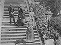 Crown Princess Stéphanie with her ladies-in-waiting.jpg