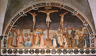 Museo Nazionale di San Marco - Crucifixion with Saints by Fra Angelico