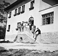 Csoportkép 1959, Csikóváraljai turistaház. Fortepan 26480.jpg