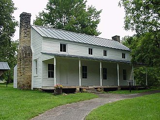 National Register of Historic Places listings in Braxton County, West Virginia - Image: Cunningham House