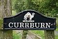 Currburn Farm sign - geograph.org.uk - 1395673.jpg